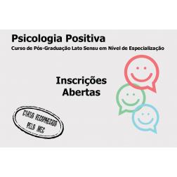 Taxa de Inscrição: Especialização em Psicologia Positiva