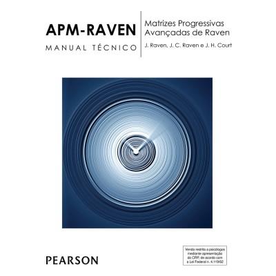 Raven APM - Matrizes Progressivas Avançadas de Raven - Kit