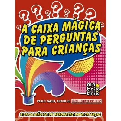 Caixa magica de perguntas para criancas, a