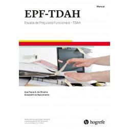 EPF - TDAH - Escala de Prejuízos Funcionais - TDAH - Kit