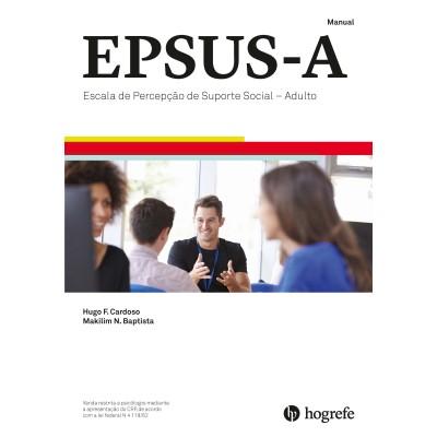 EPSUS A - Escala de Percepção de Suporte Social - Adulto - Kit