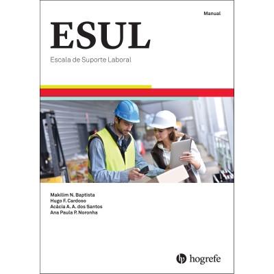 ESUL - Escala de Percepção do Suporte Laboral - Kit