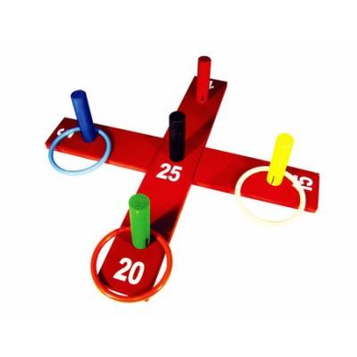 Jogo de argolas - cruz