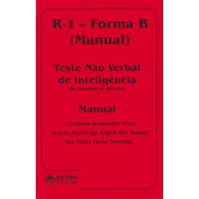 R1 Forma B - Teste Não Verbal de Inteligência - Kit