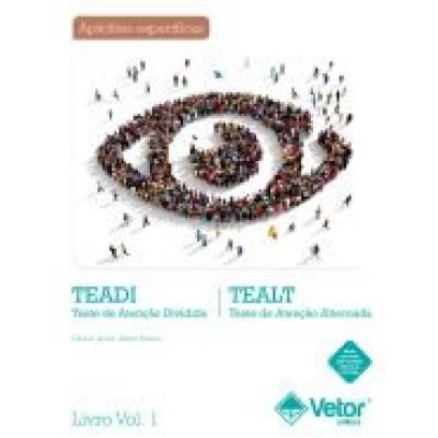 TEADI-TEALT V - Teste de Atnçao Dividida / Alternada - Kit