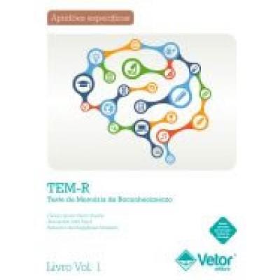 TEMR - Teste de memoria de reconhecimento - Kit