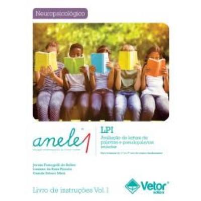 ANELE 1 - LPI - Avaliacao de Leitura de Palavras e Pseudopalavras Isoladas - Kit
