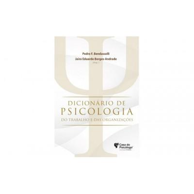 Dicionario de Psicologia do Trabalho e das Organiz