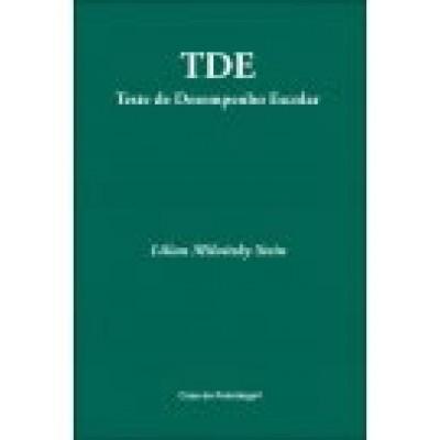 TDE - Teste de Desempenho Escolar - kit